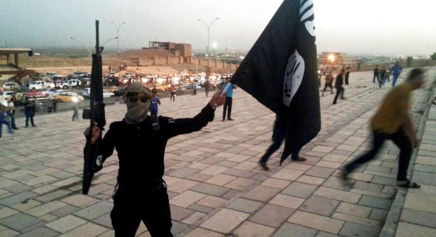 Arkivfoto. Islamisk Stat-jihadist.