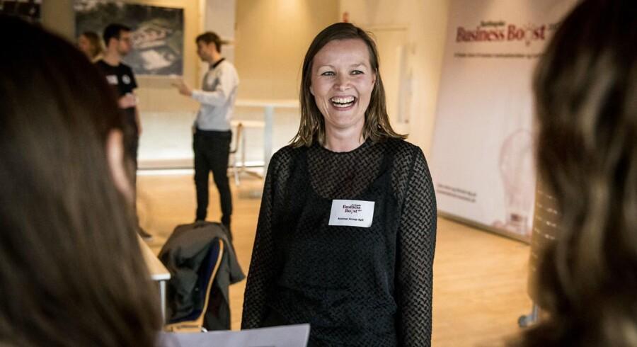 Helle Næsager har sammen med sin mand Mikkel Næsager stiftet Kostner Group.