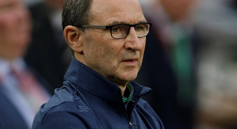 Martin O'Neill og Irland står i vejen for dansk kvalifikation til VM i fodbold.