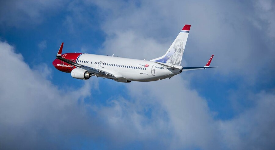 Norwegian fly. Boing 737-800