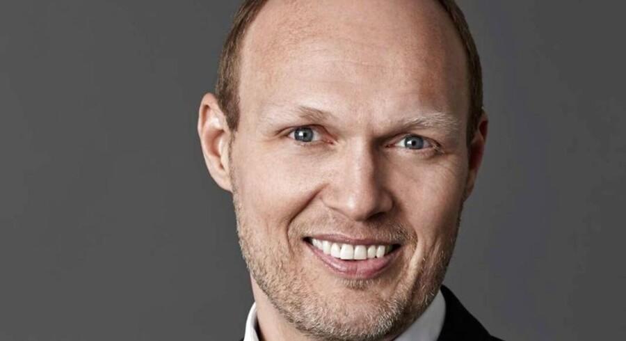 Karsten Anker Petersen, kommunikationschef i Nets, siger stop efter 33 måneder.