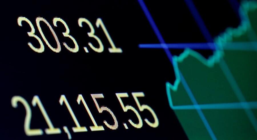 Arkvifoto: Det danske C20 Cap er tilbage på rekordkurs fra åbningen torsdag, hvor eliteindekset efter små ti minutters handel er steget 0,4 pct. til 1081,51. Der er fremgang i 18 af de 20 aktier i indekset, hvor William Demant og Genmab ligger helt i toppen.