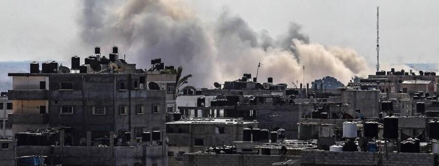 Et billede fra den 22. oktober fra det nordlige Sinai i Egypten. Området har i tre år været plaget af kampe mellem Islamisk Stat og egyptiske sikkerhedstropper.