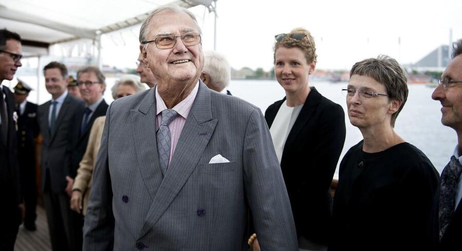Arkivfoto. Prins Henrik er opereret på Aarhus Universitetshospital i lysken og bækken for forsnævring i pulsårerne.