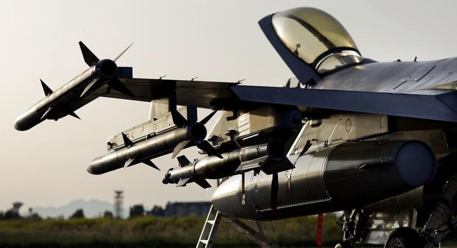 Mere end halvdelen af danskerne synes, at det er en dårlig idé at bruge et to-cifret milliardbeløb på kampfly.