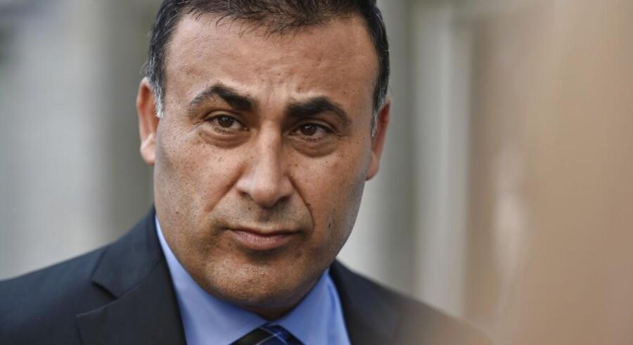 De Konservatives medieordfører, Naser Khader.