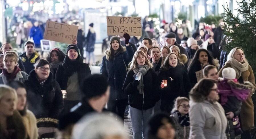 Politiet i Malmø er i forvejen i gang med at efterforske tre andre grove voldtægter mod kvinder.