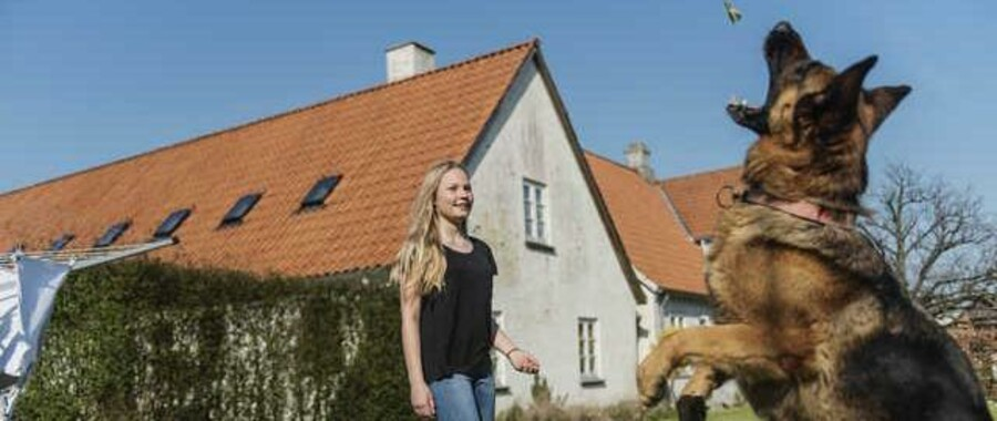 14-årige Amalie Nielsen.