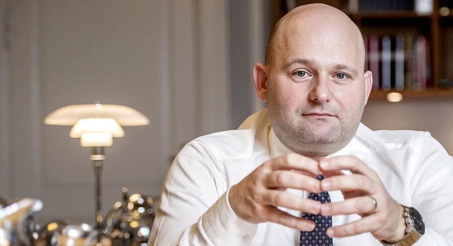 Justitsminister Søren Pape Poulsen (K). (Arkiv)