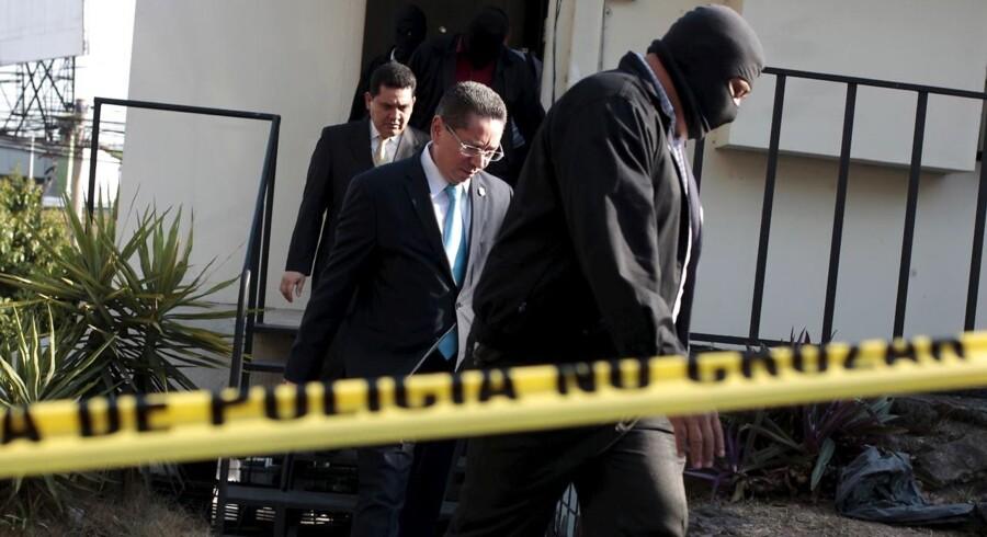 Politiet slog fredag til mod advokatfirmaet Mossack Fonseca.