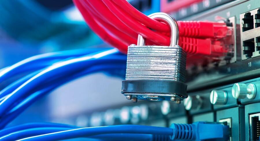 Det bliver ikke kun virksomheder men også offentlige myndigheder, som skal betale bøder, hvis der ikke er styr på datasikkerheden. Arkivfoto: Shutterstock/Scanpix