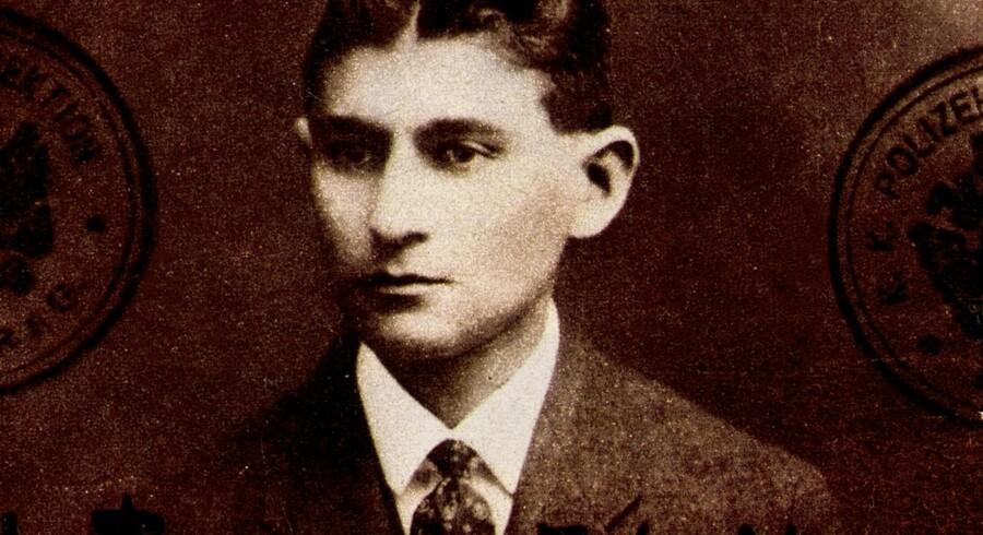 Forfatteren Franz Kafka.