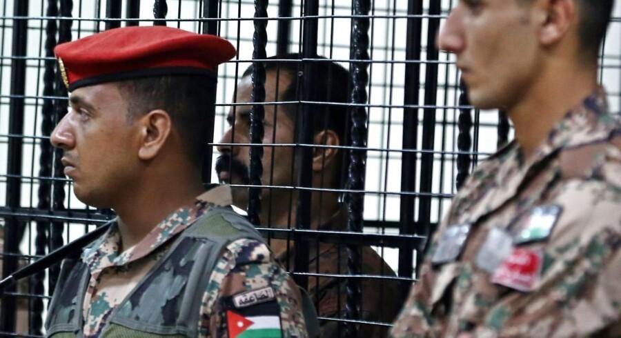 Oversergent i den jordanske hær nægtede sig skyldig i anklage, men han blev alligevel dømt til fængsel.