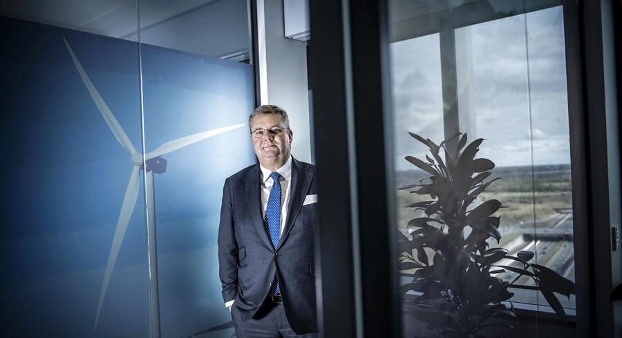Anders Runevad, administrerende direktør for Vestas, har måttet nøjes med små ordre fra USA i december. 2017 tegner dog til at blive det bedste for Vestas nogensinde på ordresiden.