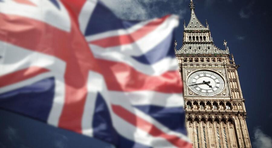 Arkivfoto. Selv om Storbritanniens BNP er vokset med 0,3 pct. i årets andet kvartal, er det langt fra noget at prale af.