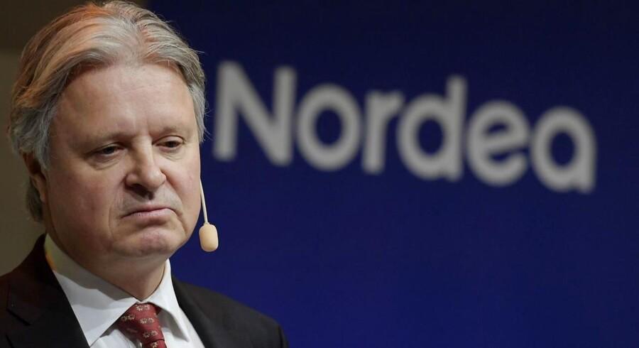 Casper von Koskull, CEO i Nordea bank. Arkivbillede / Janerik HENRIKSSON / Sweden OUT