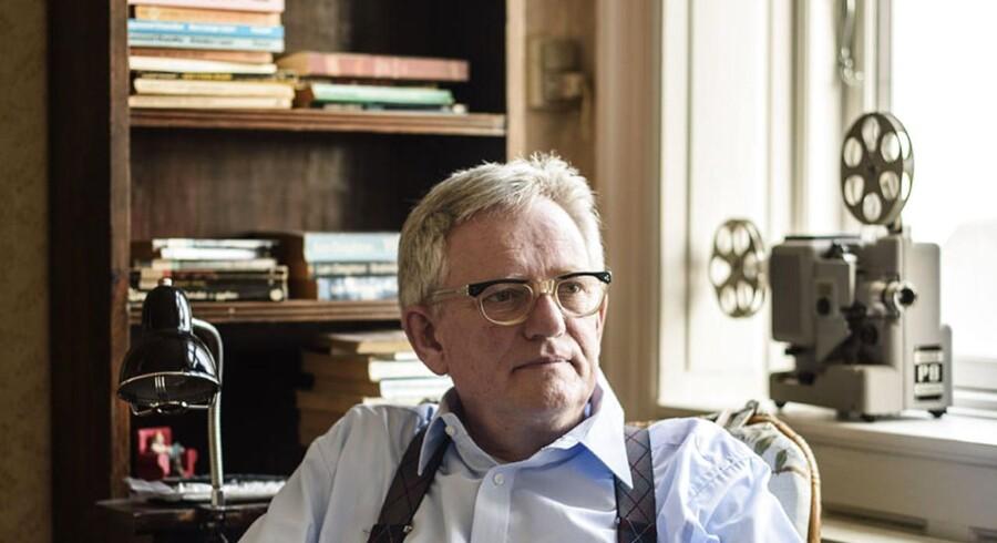 Søren Ulrik Thomsen er med på Berlingskes liste over de ti bedste danske bøger i 2016. Her er han fotograferet i sit hjem.
