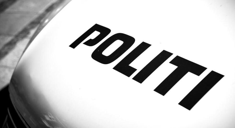 En 23-årig mand fra Esbjerg blev søndag aften bragt på hospitalet med skudsår.