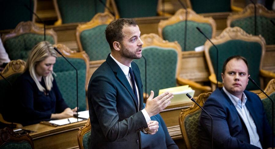 Afslutningsdebat i Folketinget. Morten Østergaard (Radikale Venstre)