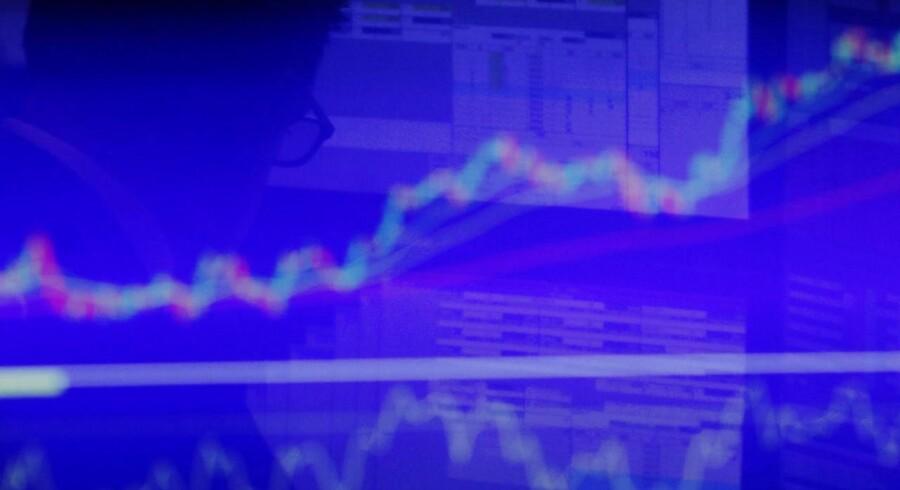 Arkivfoto. Der er udsigt til en åbning med små fald på det amerikanske aktiemarked tirsdag eftermiddag, hvor selskaberne Yahoo og Barracuda kan komme i fokus.