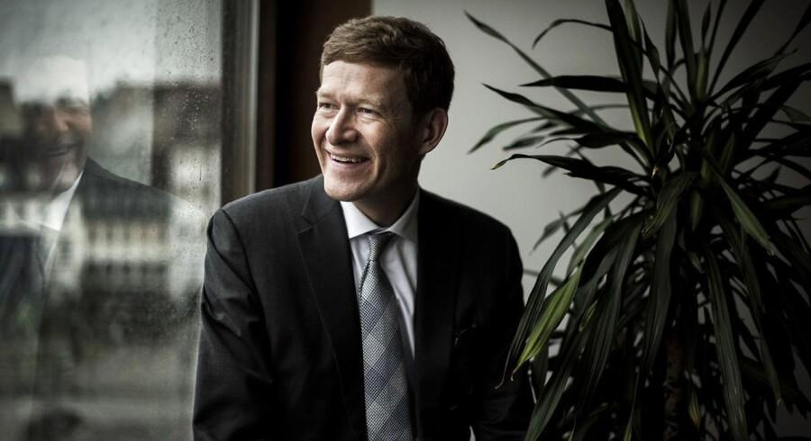 Danfoss' topchef Niels B. Christiansen er en glad mand. For selvom 2016-regnskabet, som den sønderjyske industrikoncern offentliggjorde torsdag, på overfladen ligner sidste års regnskab ret meget, er der forskel.