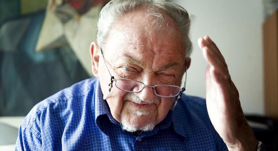 Anker Jørgensen er død, 93 år gammel.