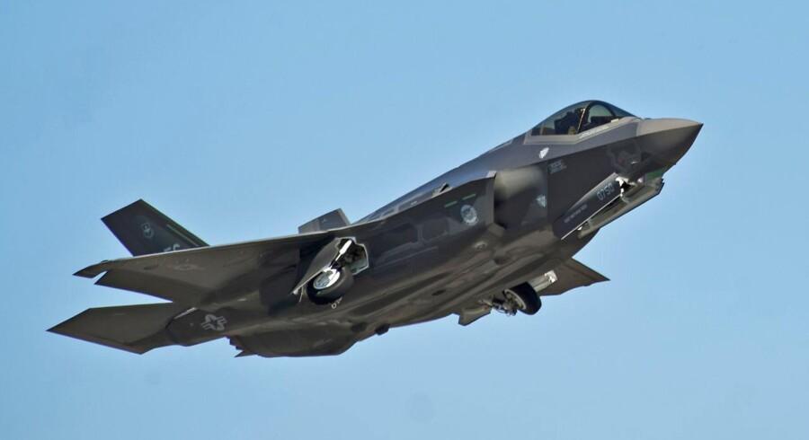 F-35 Joint Strike Fighter ser ud til at blive Danmarks nye kampfly