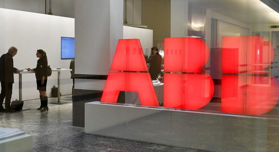 ABB Group i Zurich. Arkivfoto.