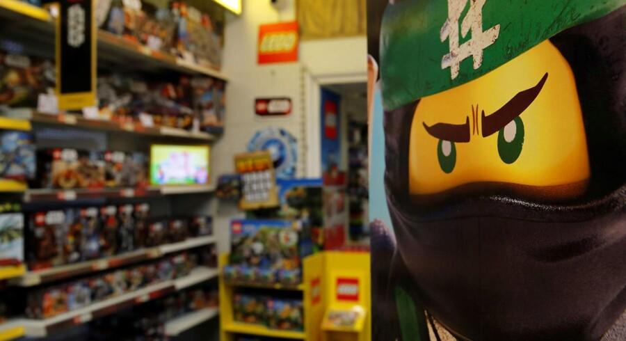 En Lego-butik blev fredag udsat for en ransagning af østrigsk politi, som havde fået en henvendelse om en overtrædelse af Østrigs burkaforbud. Synderen var en ninja-legomand. Arkivfoto.
