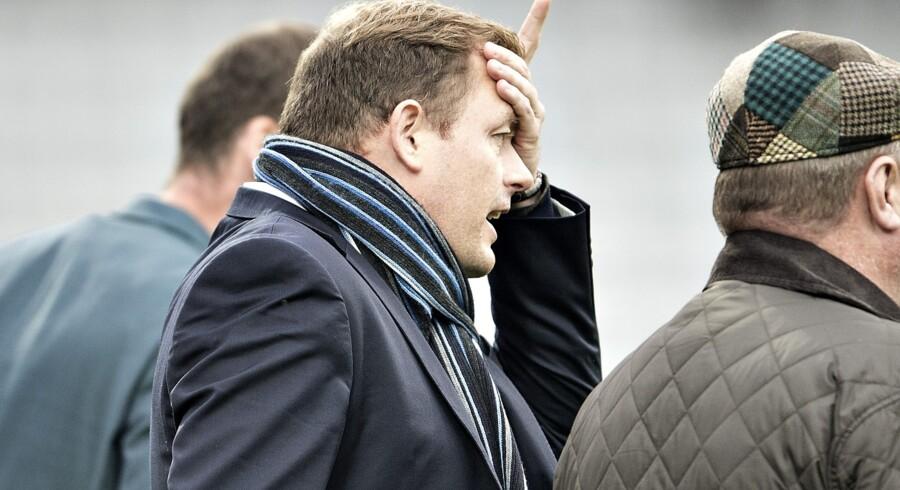AGF-direktør Jacob Nielsen er stolt over at kunne invitere flygtninge til fodbold i Aarhus. Scanpix/Henning Bagger