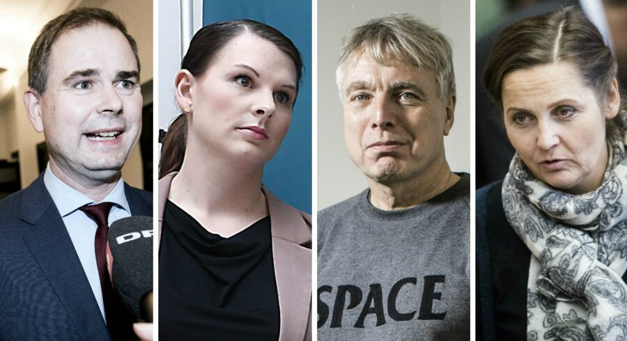 Nicolai Wammen, Mette Abildgaard, Uffe Elbæk og Pia Olsen Dyhr er blandt politikere, som har kommenteret Esben Lunde Larsens tone på sociale medier.