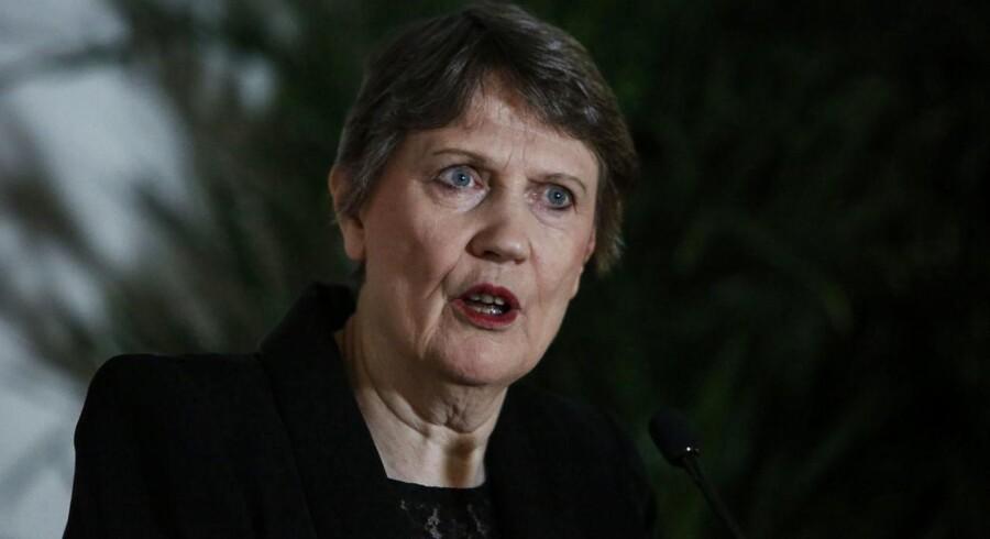 66-årige Helen Clark vil, hvis hun bliver generalsekretær, være den første kvinde, der bestrider jobbet. FN's generalsekretær har været en mand i de syv årtier, hvor posten har eksisteret.