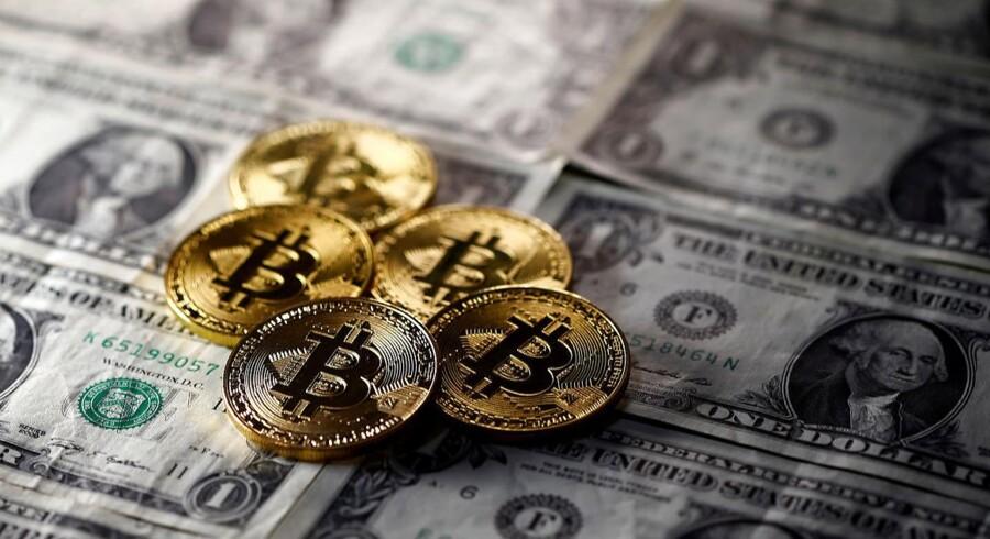 Bitcoin satte onsdag ny rekord, da prisen for én bitcoin steg til 10.000 dollar. Prisen er indtil videre blevet tidoblet i år.