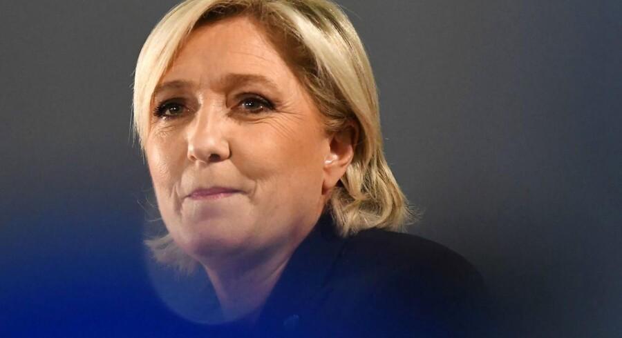 Arkivfoto. Den franske toppolitiker har været til afhøring, og hun er blevet sigtet i Frankrig for snyd med EU-midler.