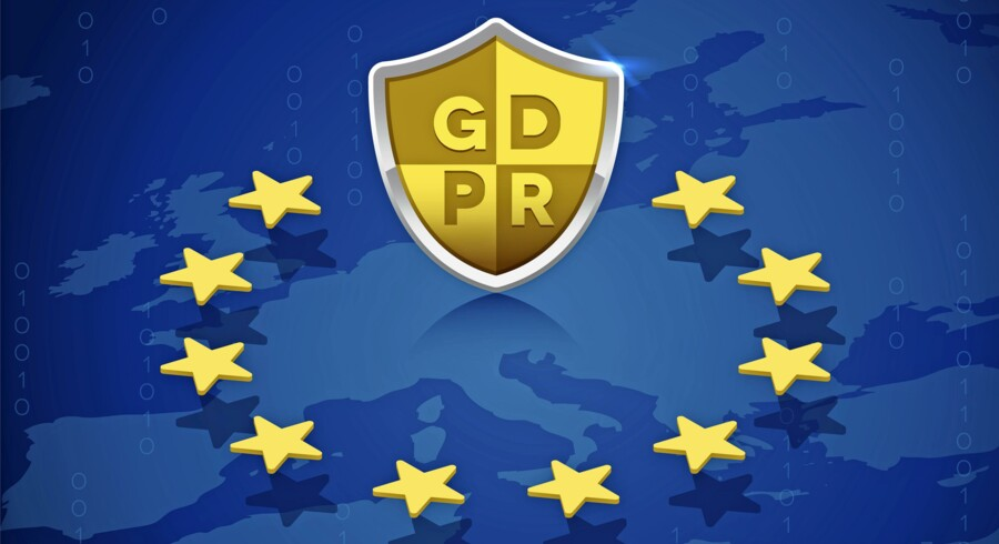 I næste måned træder EUs nye dataforordning GDPR (General Data Protection Regulation in European Union) i kraft med trusler om skyhøje bøder for overtrædelser. Illustration: Iris