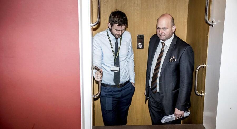 Justitsminister Søren Pape Poulsen (K) sætter otte nye initiativer i søen, der skal få straffesager hurtigere igennem retssystemet. (Foto: Mads Claus Rasmussen/Scanpix 2018)