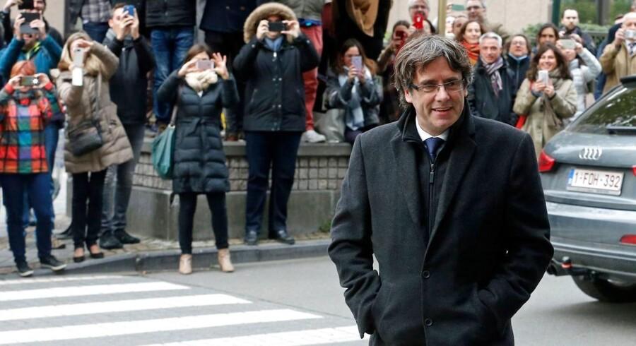 Carles Puigdemont har meldt sig selv til det belgiske politi.