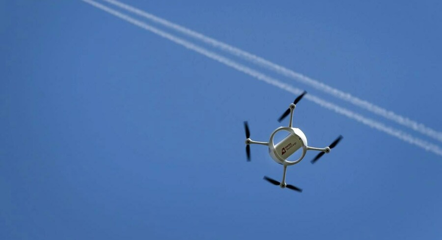 Droner skal forbedre mobildækning.