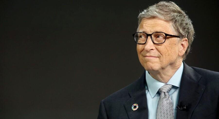Bill Gates' formue er vokset med 8 milliarder dollars eller godt 50 milliarder kroner. Han formue er derfor sat til svimlende 89 milliarder dollars eller lidt over 563 milliarder kroner.