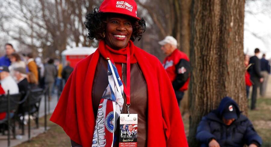 Selv om der ikke er mange sorte Trump-tilhængere, findes de naturligvis.