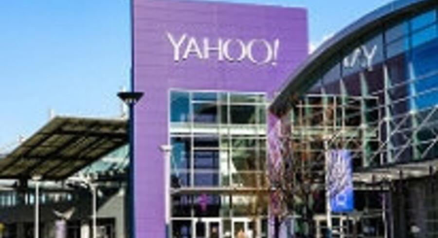 Yahoo gør klar til at lade sig overtage af Verizon. (arkivfoto) Free/Yahoo