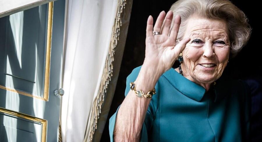 Prinsesse Beatrix skiftede dronningetitlen ud, da hun abdicerede i 2013. Reuters/Pool