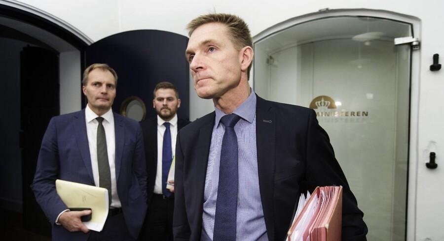 Arkivfoto: Dansk Folkepartis resultat ved kommunalvalget er »bestemt ikke« det, partiformanden havde ønsket sig.