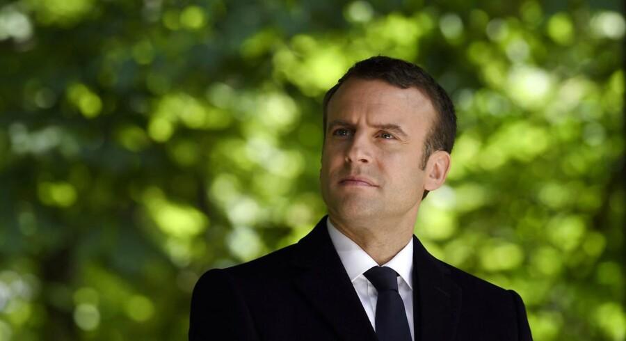 Arkivfoto. Emmanuel Macron