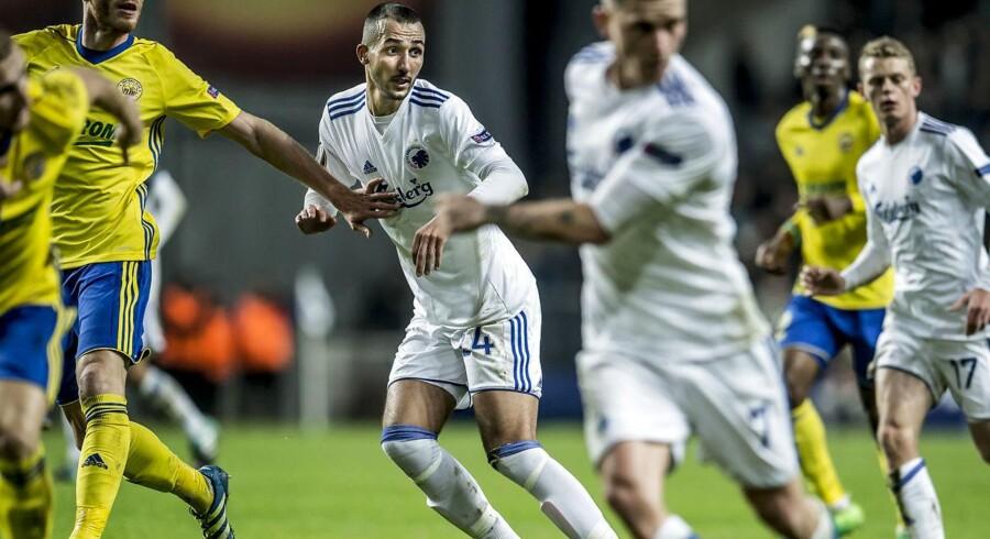 Youssef Toutouh nærmer sig topformen og bejler til en af pladserne i FCK's startopstilling mod Brøndby.
