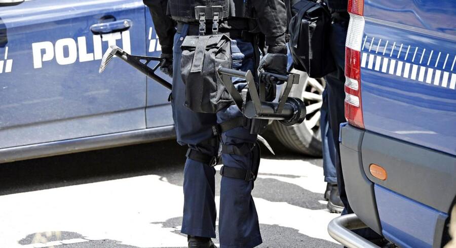 ARKIVFOTO: Regeringen har fundet frem til, hvordan Forsvaret kan hjælpe politiet.