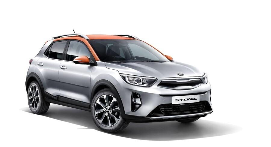 Stonic er Kias første bud på en lille SUV - eller crossover - og den skal konkurrere mod bl.a. Peugeot 2008