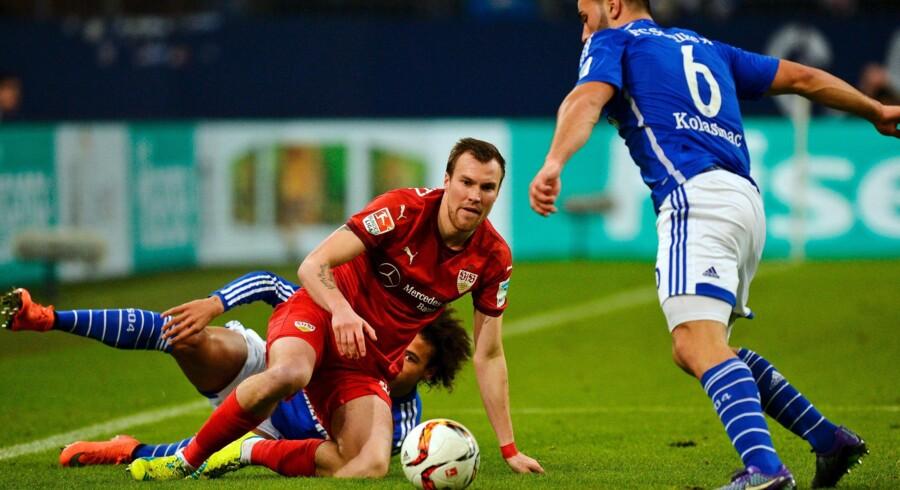 Kevin Grosskreutz er blevet fyret i Stuttgart, efter han var involveret i et slagsmål. Scanpix/Sascha Schuermann