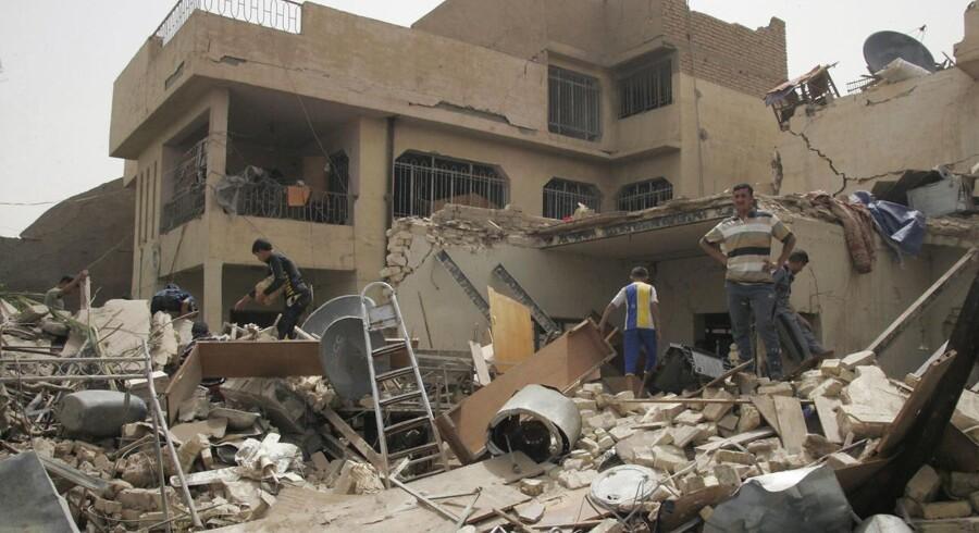 Arkivfoto. Ingen har endnu taget skylden for et bombeangreb i Irak, der har kostet flere civile livet.