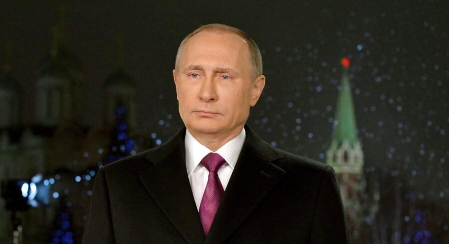 Ruslands præsident, Vladimir Putin, skal håndtere en sprængfarlig situation efter optrapningen i rivaliseringen mellem Saudi-Arabien og Iran. Foto: Scanpix